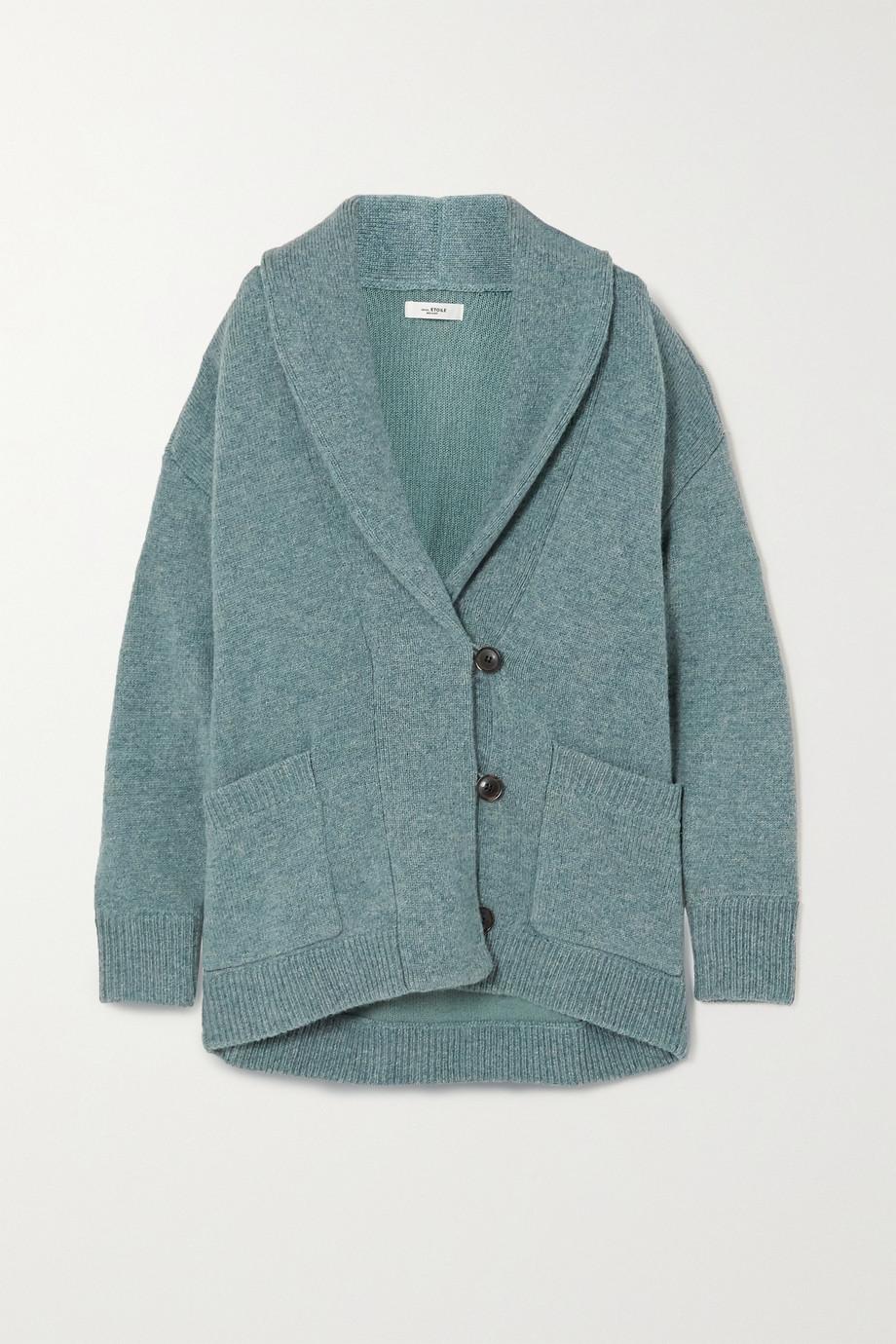 Isabel Marant Étoile Malhone oversized wool and cotton-blend cardigan