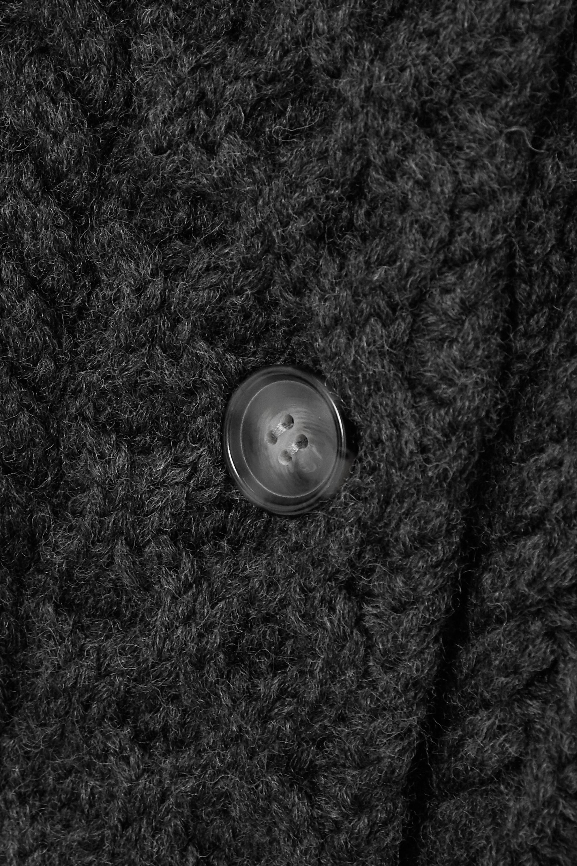 Isabel Marant Étoile Regan cable-knit wool cardigan