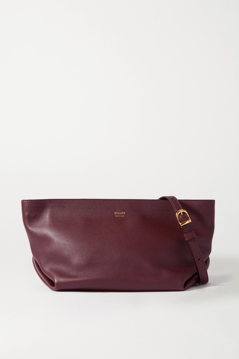 Khaite Adeline leather shoulder bag