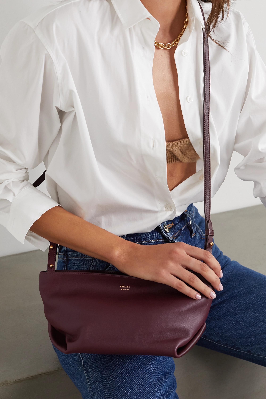 Khaite Adeline leather shoulder bag