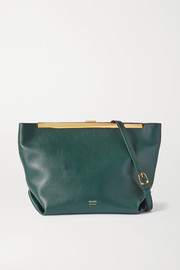 Khaite Augusta Envelope Pleat leather shoulder bag