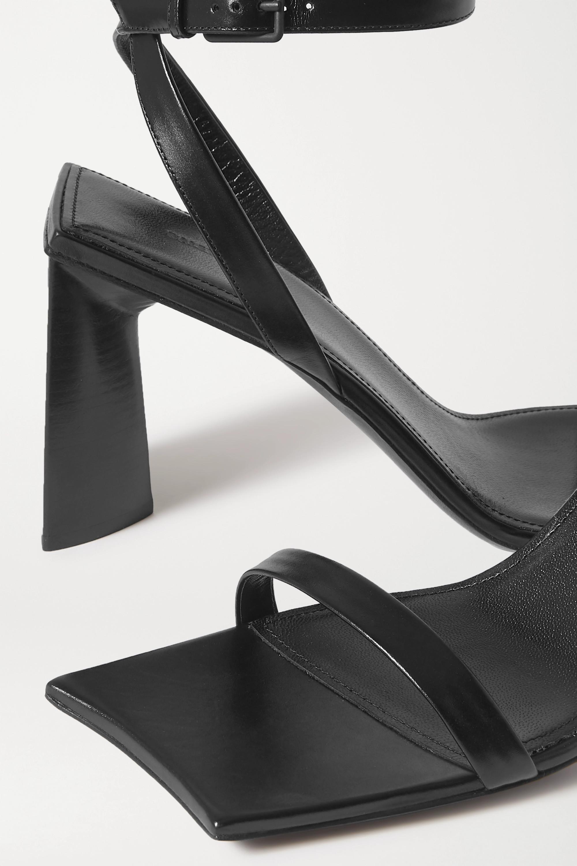 Black Moon leather sandals | Balenciaga