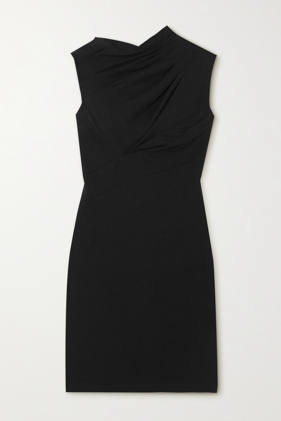 RtA Holly cutout twisted cotton-jersey mini dress