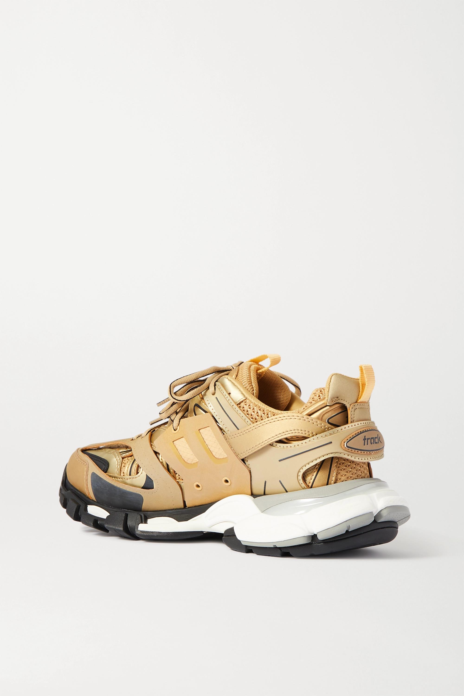 Balenciaga Track 品牌标志细节金属感网眼橡胶运动鞋