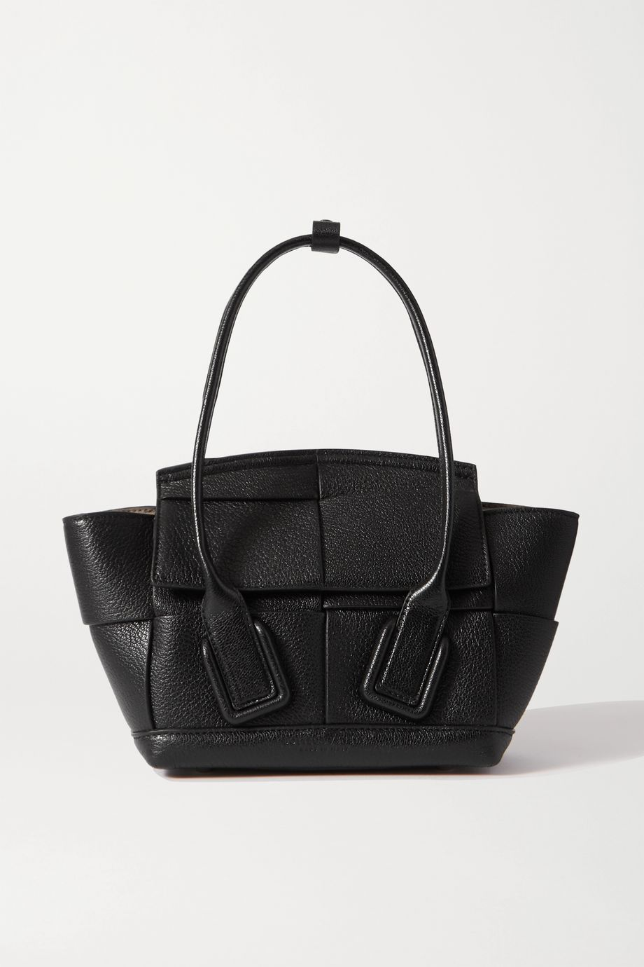Bottega Veneta Arco mini textured-leather tote