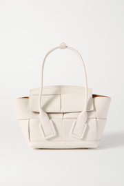 Bottega Veneta Arco mini intrecciato textured-leather tote