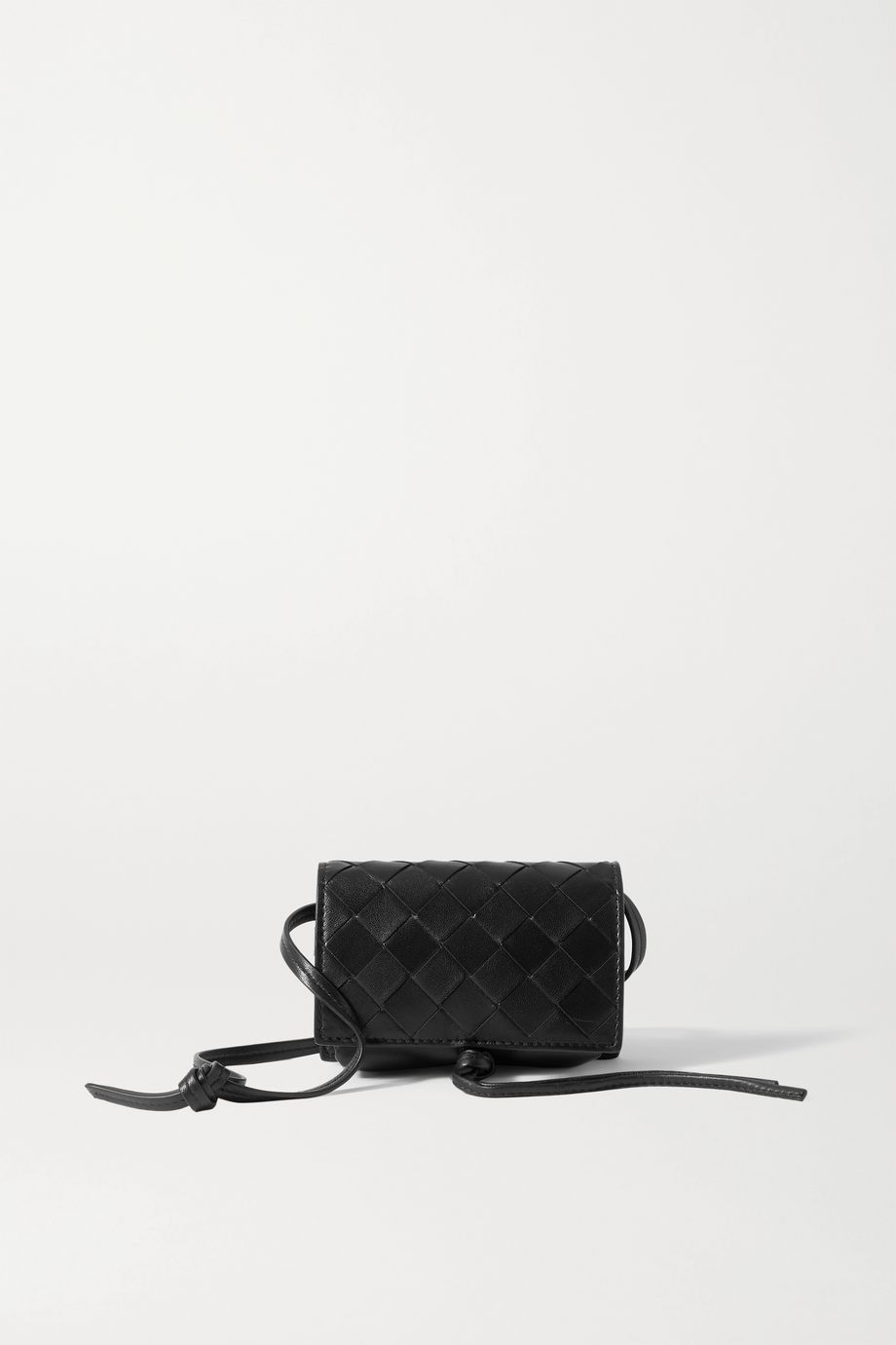 Bottega Veneta Mini intrecciato leather shoulder bag