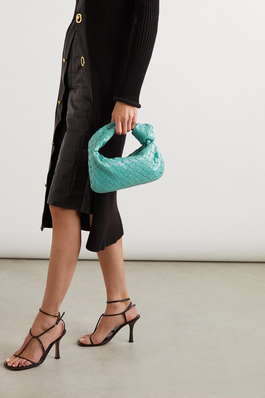 Bottega Veneta Jodie mini Tote aus Intrecciato-Leder mit Knoten