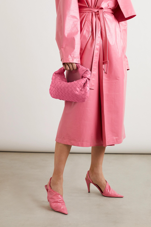 Bottega Veneta Sac à main en cuir intrecciato à nœuds Jodie Mini