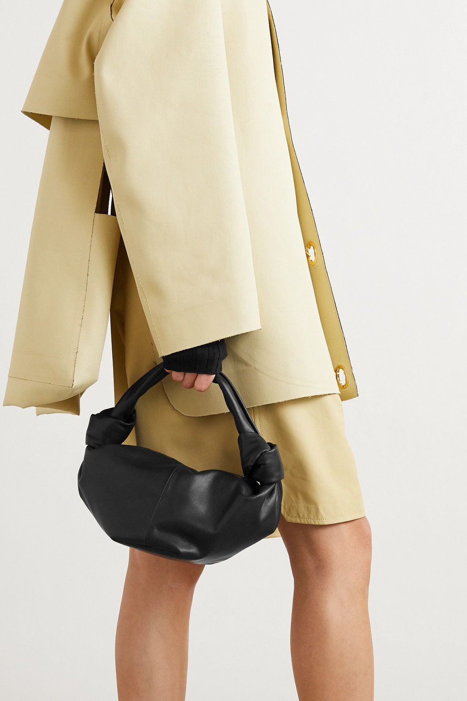 Bottega Veneta Mini knotted leather tote