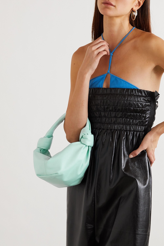 Bottega Veneta Sac à main en cuir à nœuds Mini