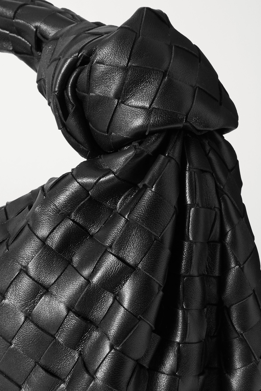 Bottega Veneta Jodie kleine Tote aus Intrecciato-Leder mit Knoten