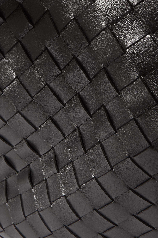 Bottega Veneta Fold mittelgroße Schultertasche aus Intrecciato-Leder