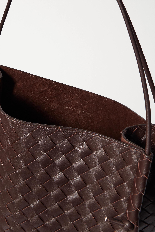 Bottega Veneta Knot mittelgroße Tote aus Intrecciato-Leder