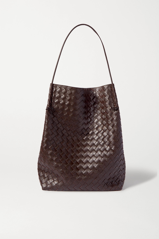 Bottega Veneta Knot medium intrecciato leather tote