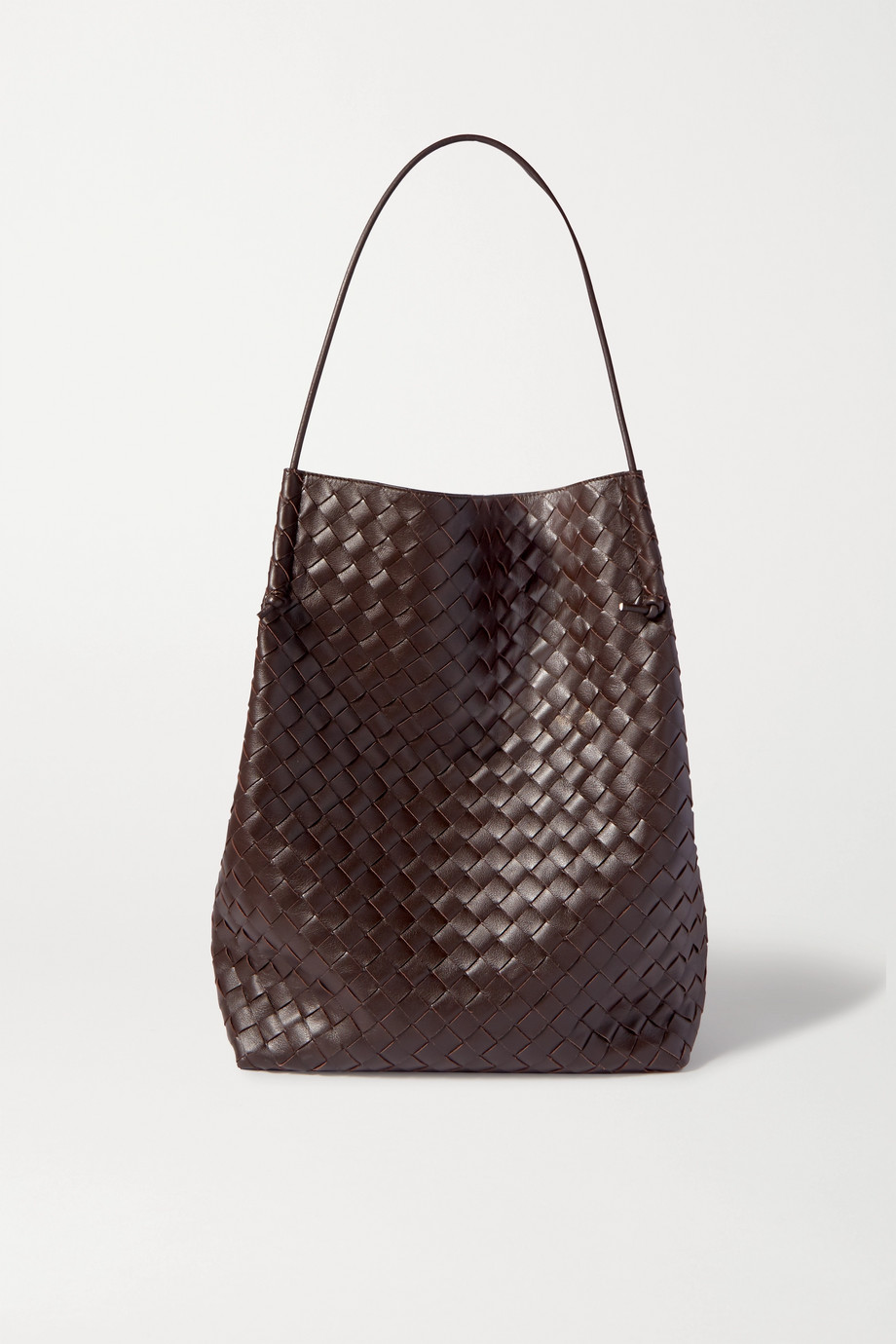 Bottega Veneta Sac à main en cuir intrecciato Knot Medium
