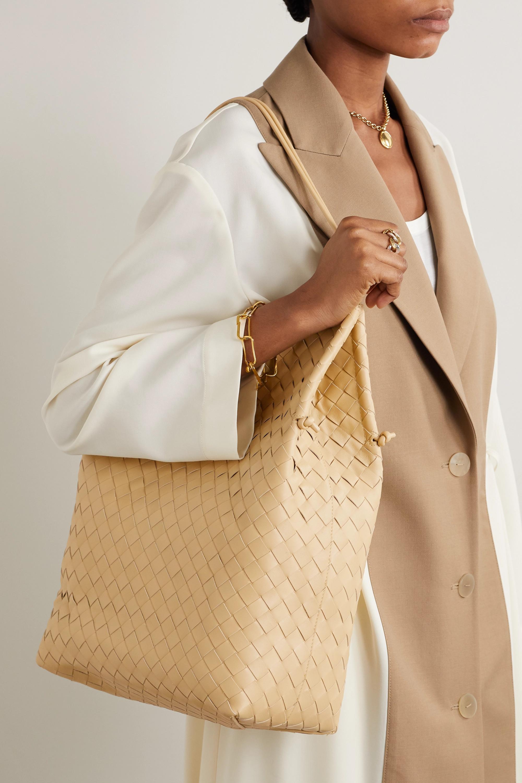 Bottega Veneta Sac à main en cuir intrecciato Medium