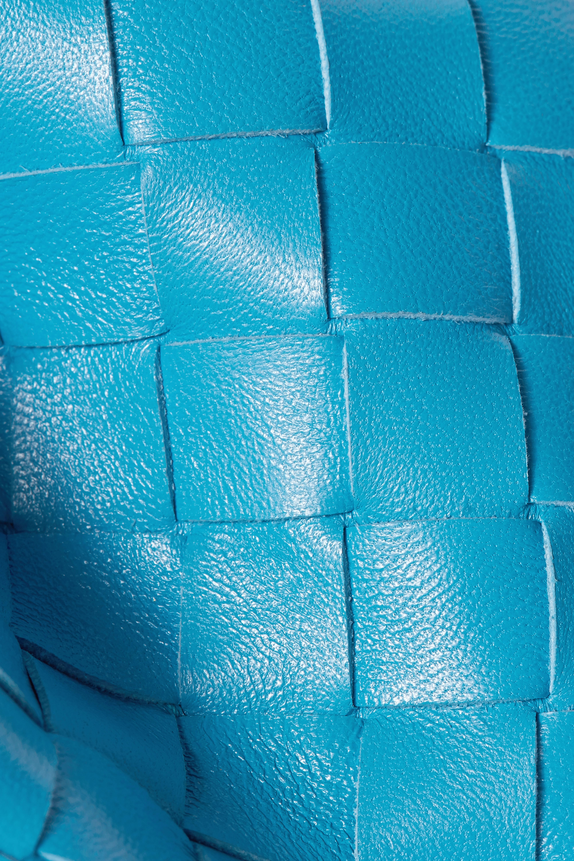 Bottega Veneta Pochette en cuir intrecciato à fronces The Pouch Large