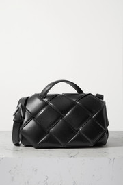 Bottega Veneta Padded intrecciato leather shoulder bag