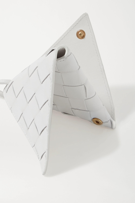 Bottega Veneta Schlüsselanhänger aus Intrecciato-Leder