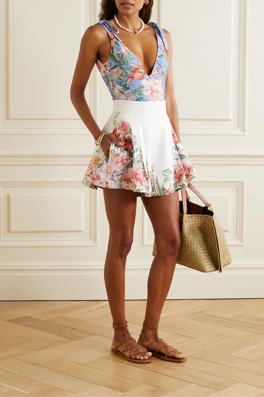 Zimmermann Bellitude floral-print swimsuit