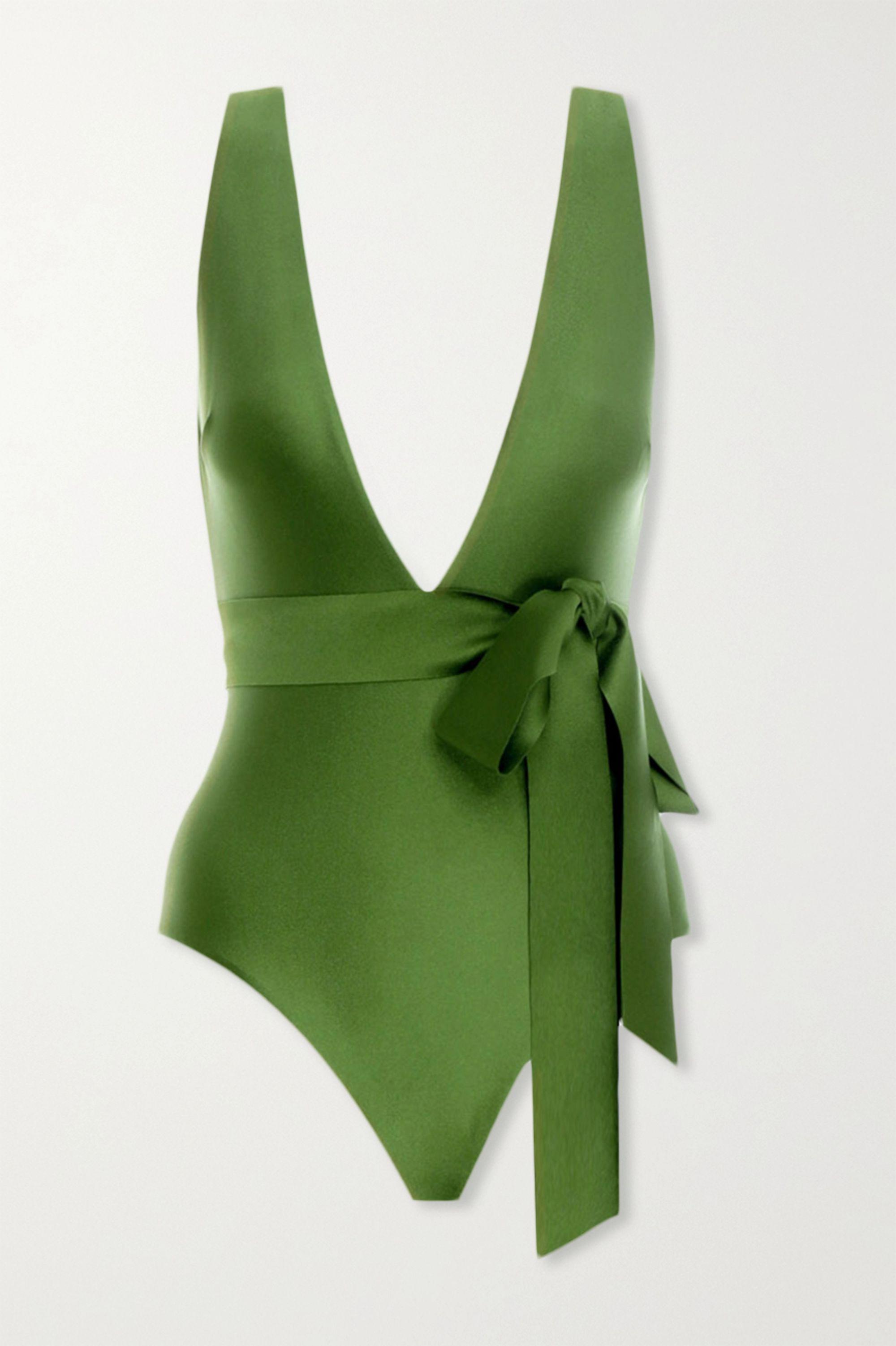 Zimmermann Empire tie-detailed swimsuit