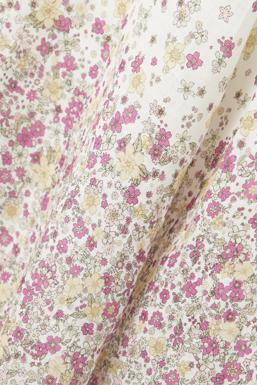 Zimmermann Carnaby floral-print linen midi dress