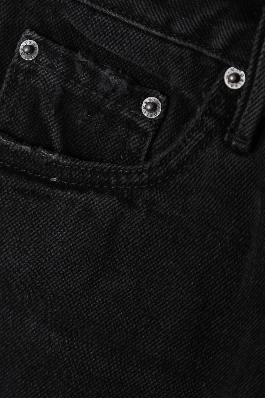 GRLFRND Short en jean effilé Jourdan