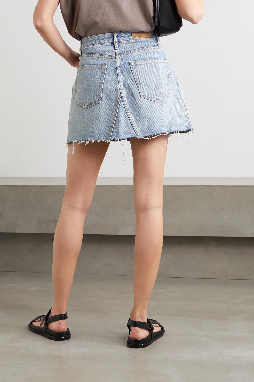 GRLFRND Mini-jupe en jean effilée Eva