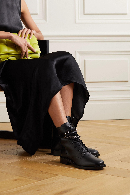 Valentino Valentino Garavani Rockstud 25 leather ankle boots
