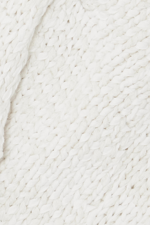 Bottega Veneta Soutien-gorge à bonnets souples en coton mélangé