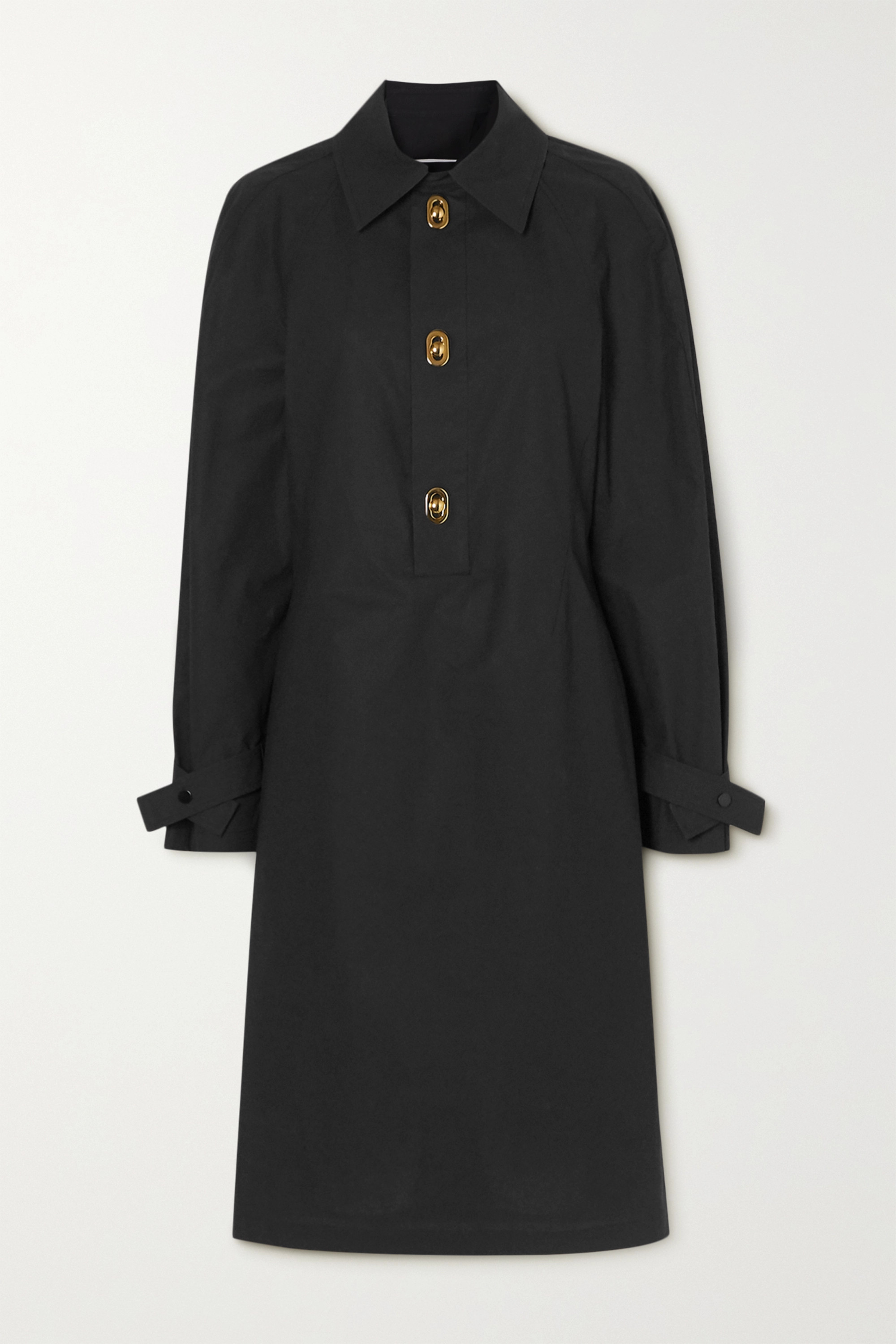Bottega Veneta 涂层纯棉连衣裙
