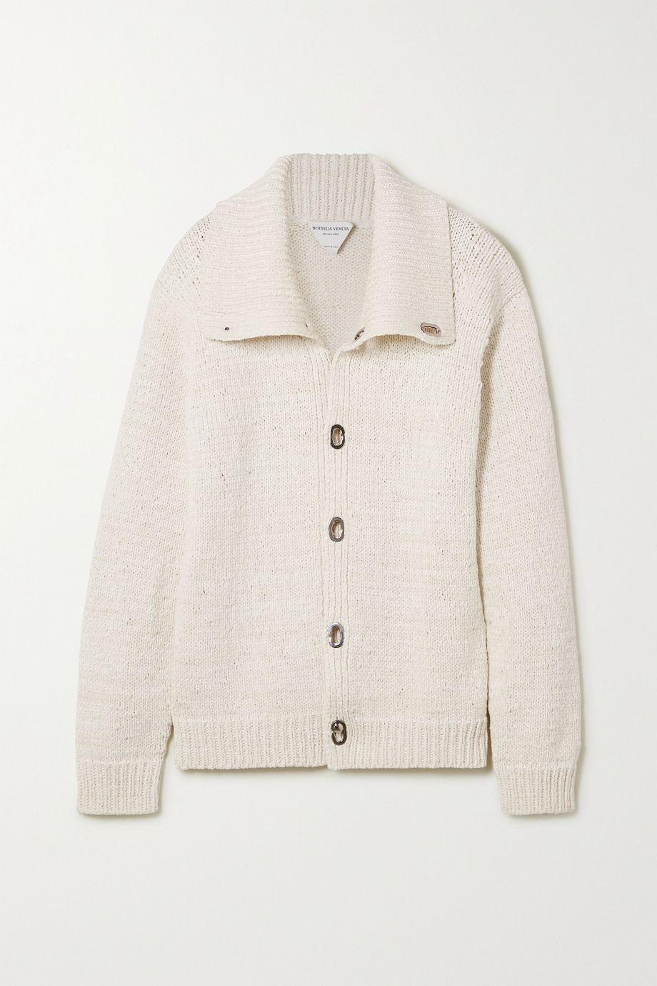 Bottega Veneta 大廓形针织夹克