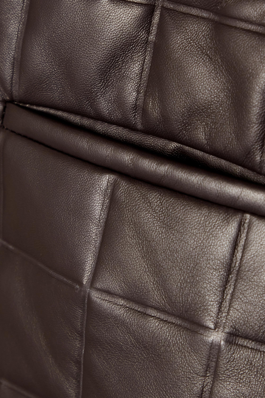 Bottega Veneta 绗缝皮革短裤