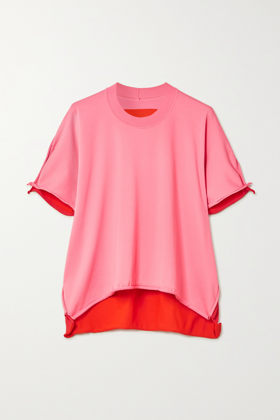 Bottega Veneta Two-tone jersey T-shirt