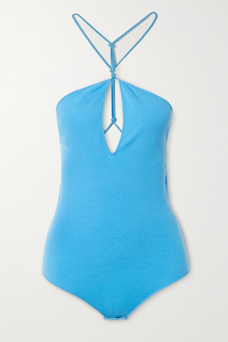 Bottega Veneta Knitted halterneck bodysuit