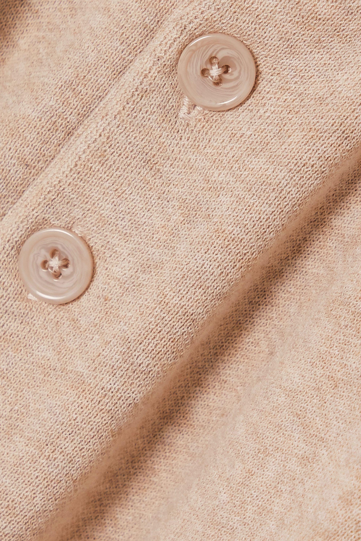 Beige Sagveien Cotton-piqué Polo Shirt | Holzweiler