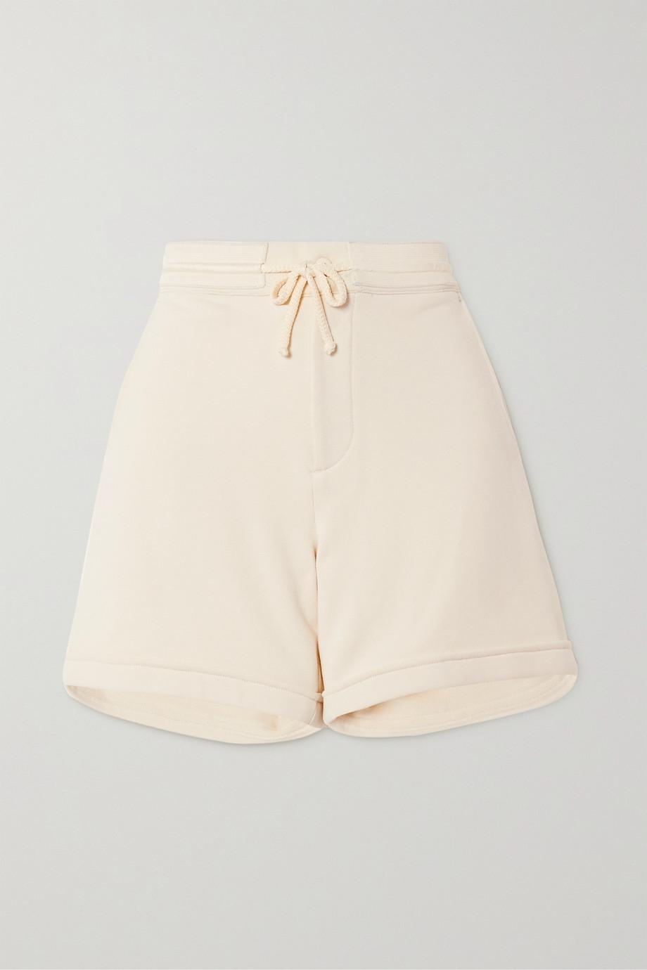 Holzweiler Utsikten cotton-jersey shorts