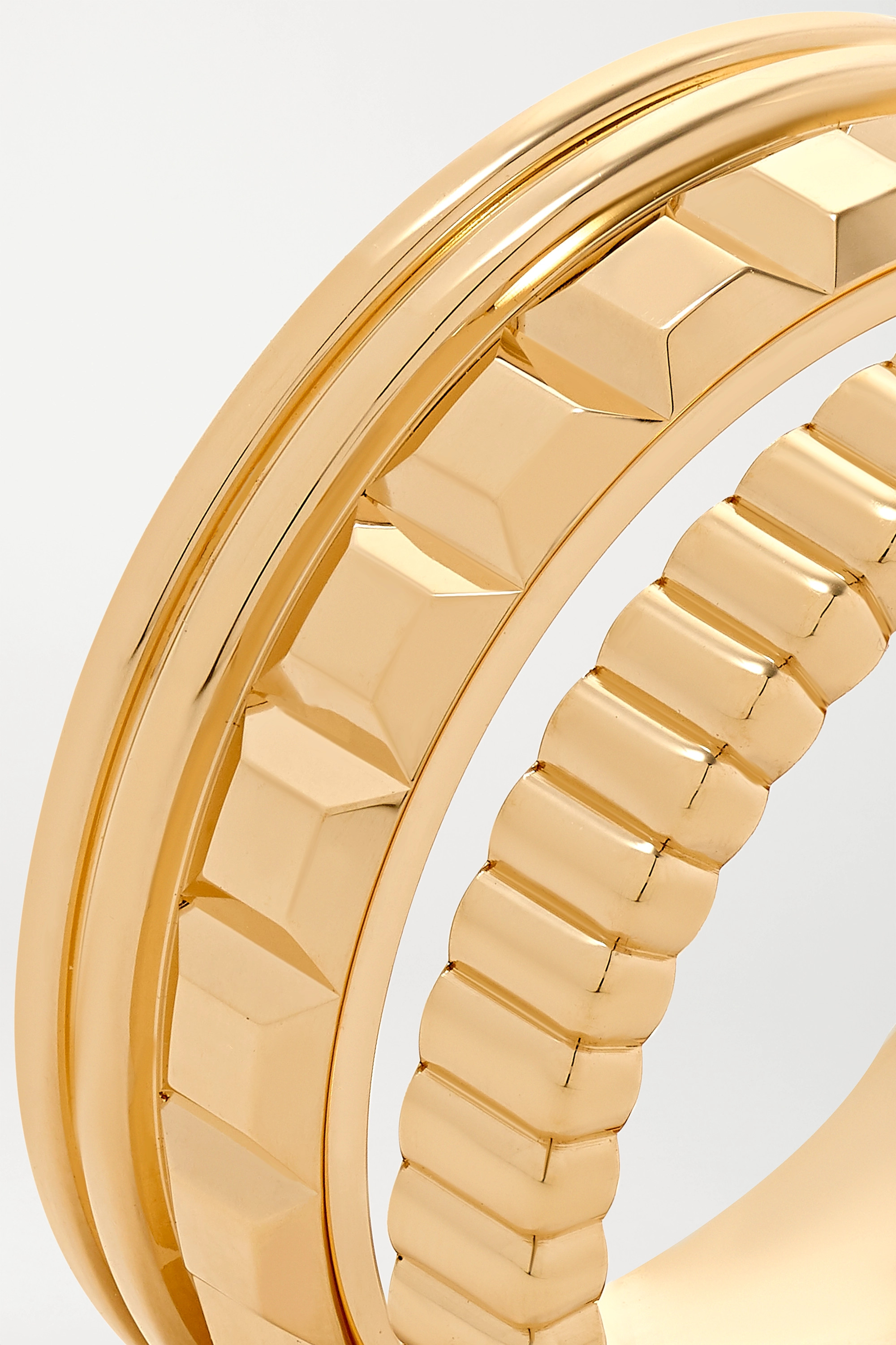 Boucheron Quatre Radiant Edition Large 18-karat gold ring
