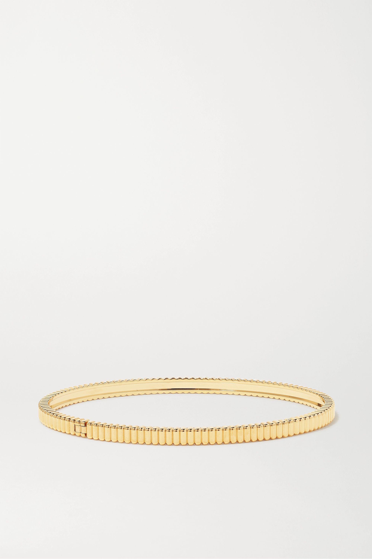 Boucheron Quatre Grosgrain Light Armreif aus 18 Karat Gold