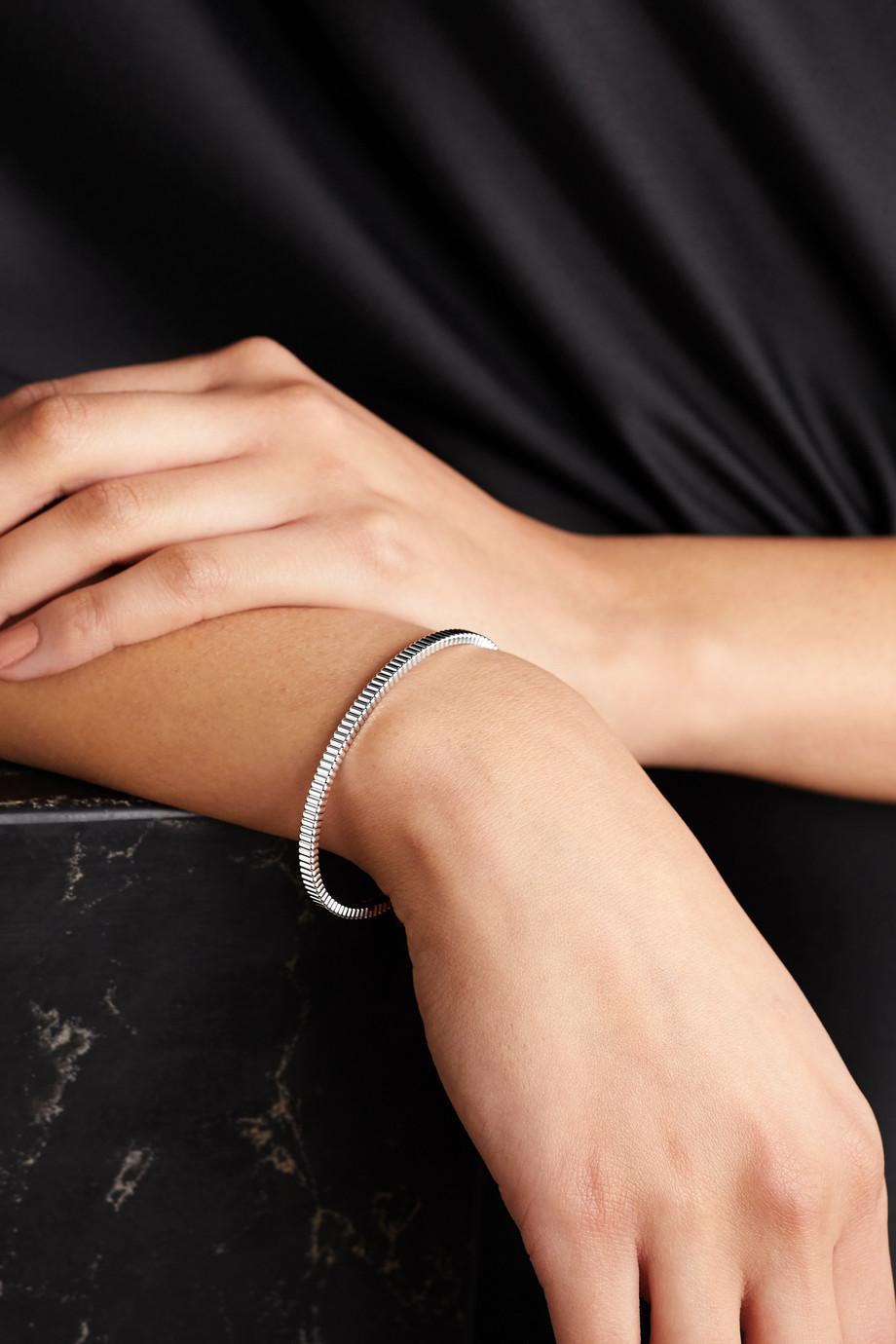 Boucheron Quatre Grosgrain Light 18-karat white gold bracelet