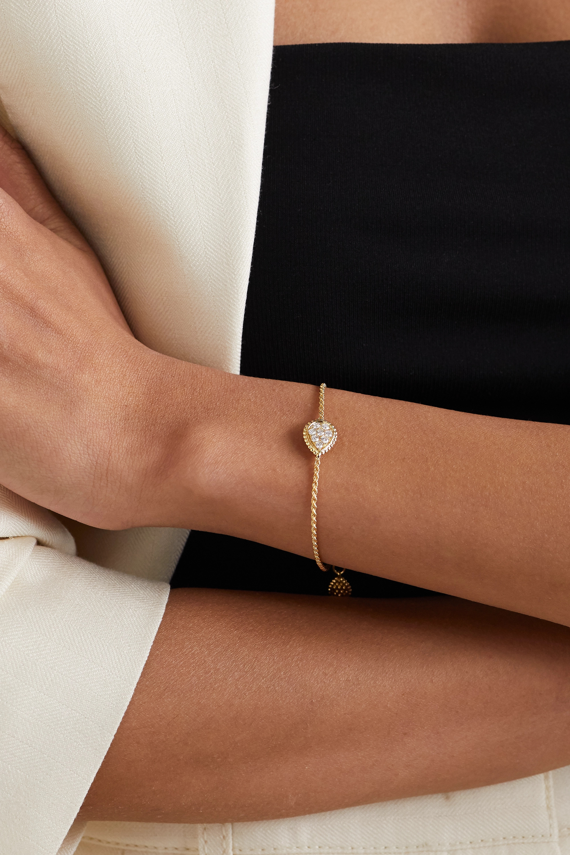 Boucheron Serpent Bohème 18-karat gold diamond bracelet