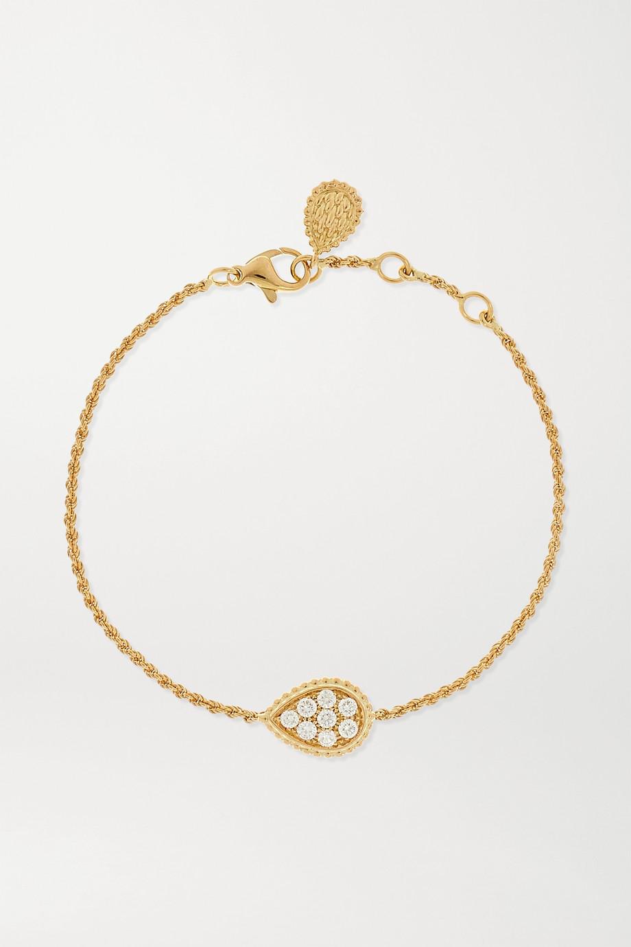 Boucheron Bracelet en or 18 carats et diamants Serpent Bohème