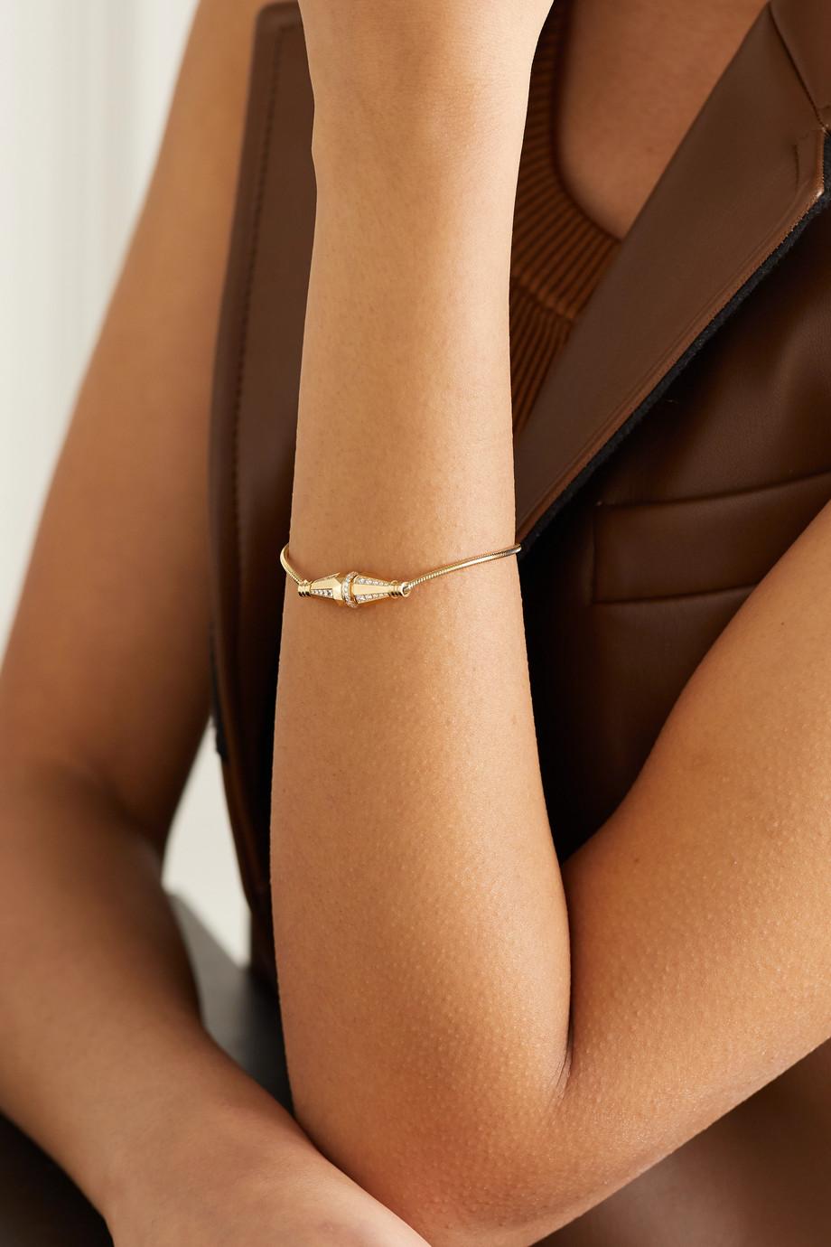 Boucheron Bracelet en or 18 carats et diamants Jack de Boucheron