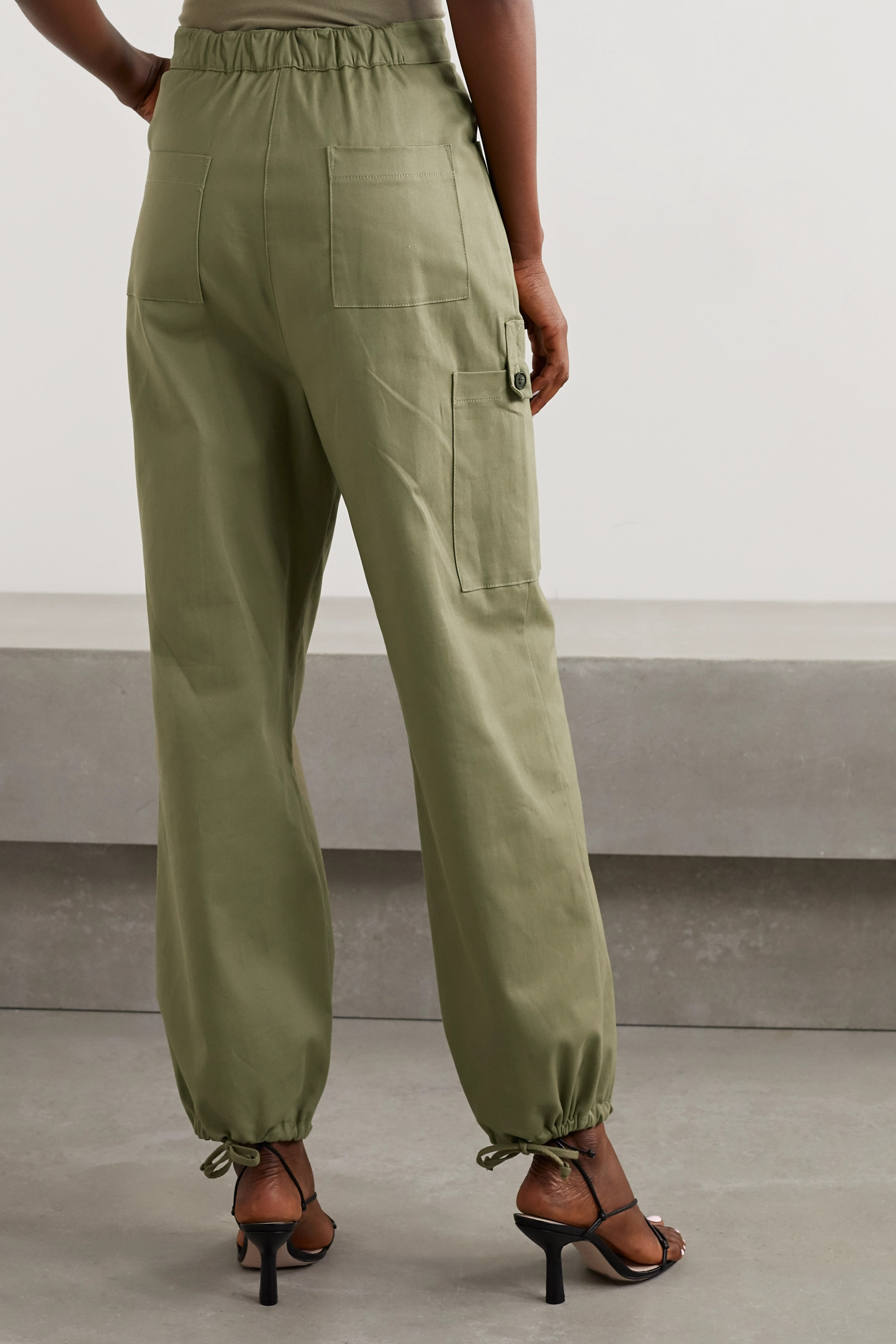 The Range Cotton-blend twill cargo pants