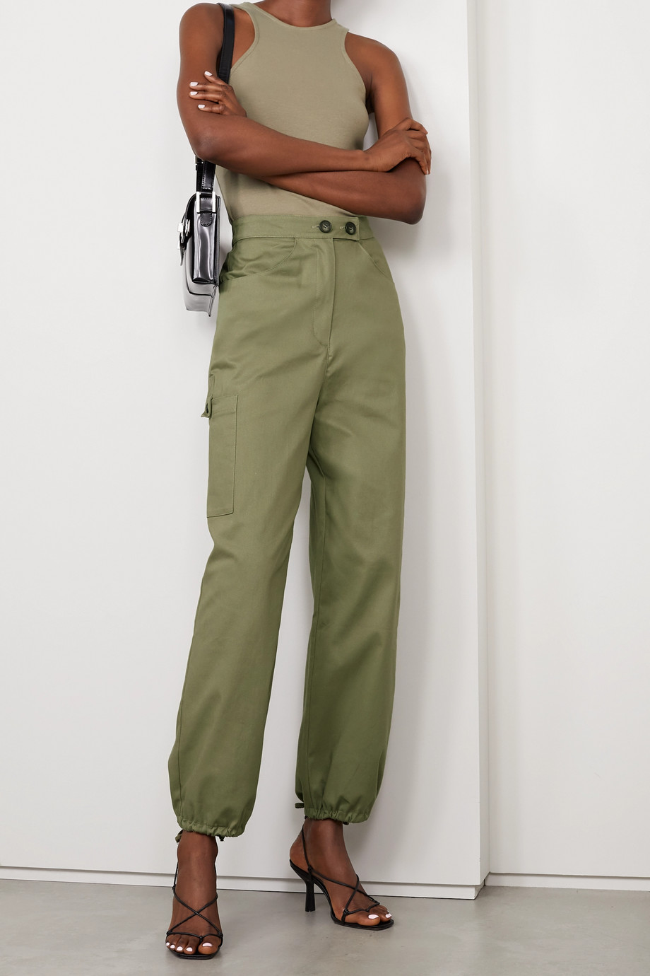 The Range Cotton-blend twill cargo pants
