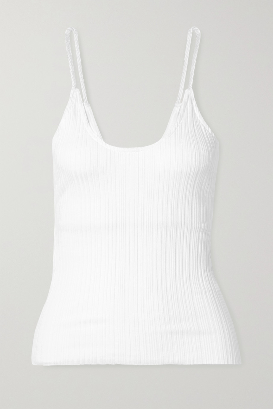 The Range Wave ribbed-knit tank