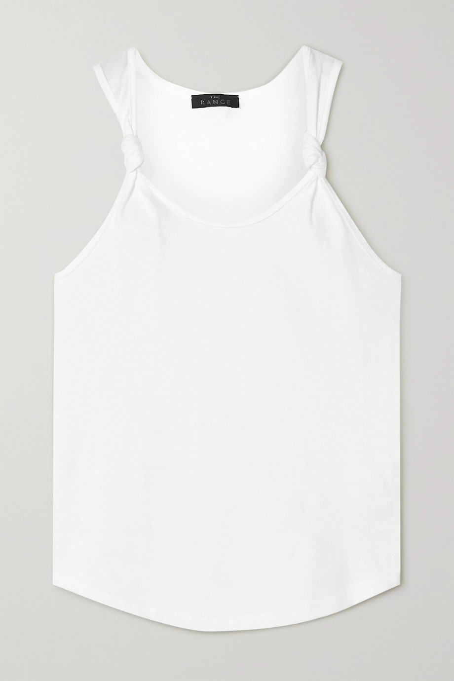 The Range Substance knotted cotton-jersey tank