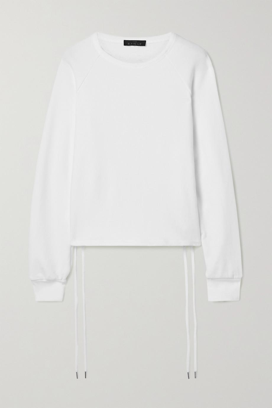 The Range Element stretch French cotton-terry sweatshirt