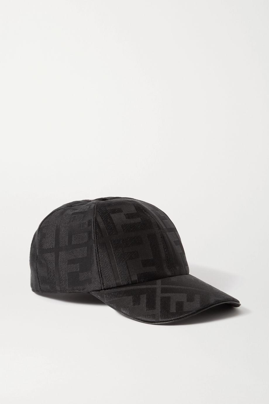 Fendi Silk-jacquard baseball cap